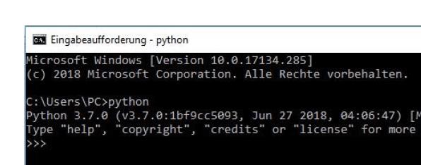 Python 3 Screenshot mit Rand