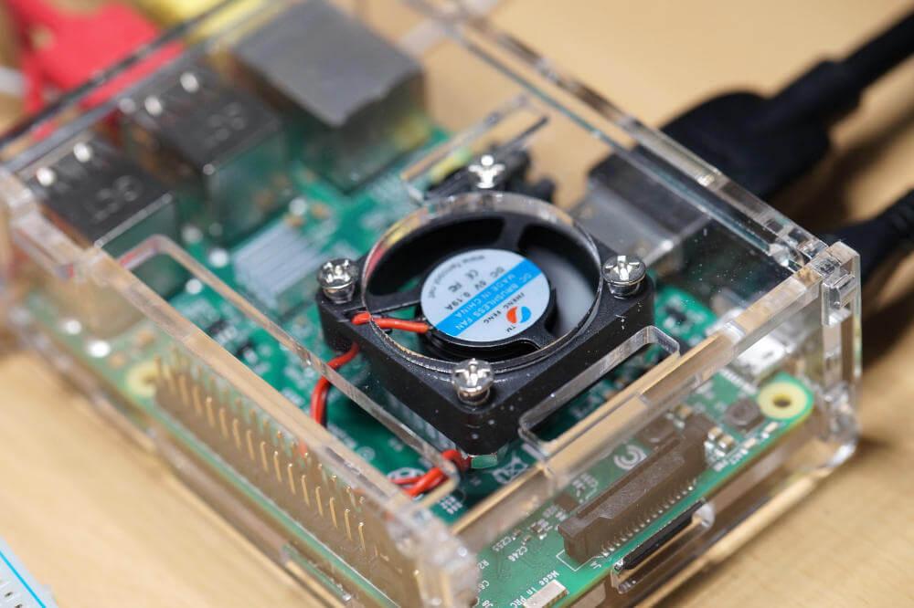 Raspberry Pi 4 aktiver Lüfter