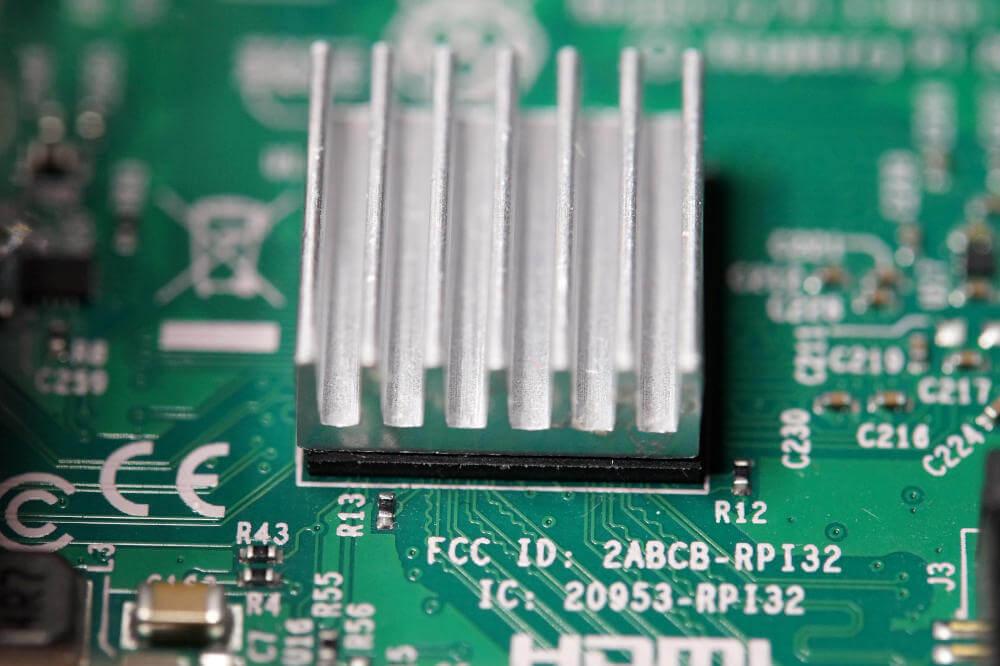 Raspberry Pi 4 Kühlkörper Aluminium