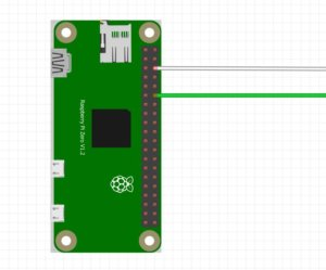 Raspberry Pi Zero LED Strip Anschluss