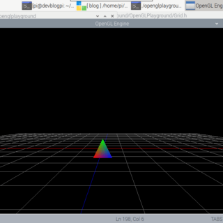 Raspberry Pi OpenGL Playground