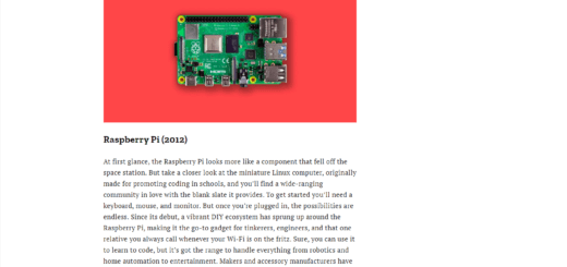 Raspberry Pi Time Magazine