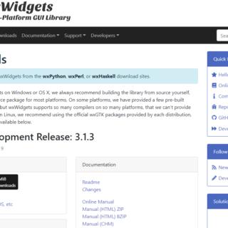 wxWidgets herunterladen