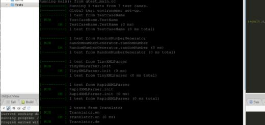 gtest unter Linux einrichten
