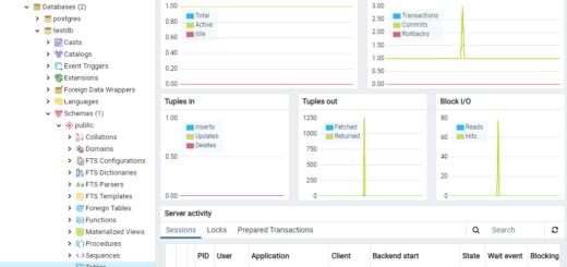 Docker Container pgadmin4