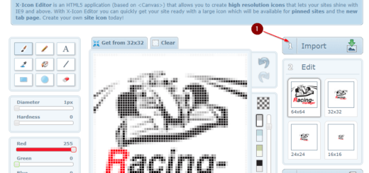 Icon Editor online