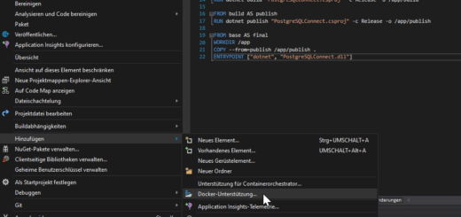 Visual Studio Docker Support