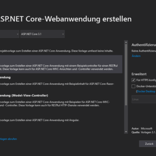 Web API Projekt
