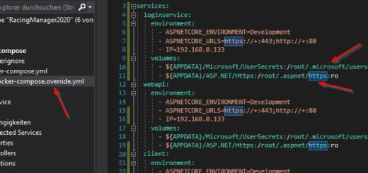 Microservices Docker https