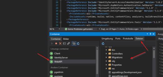 SSH login in laufenden Docker Container