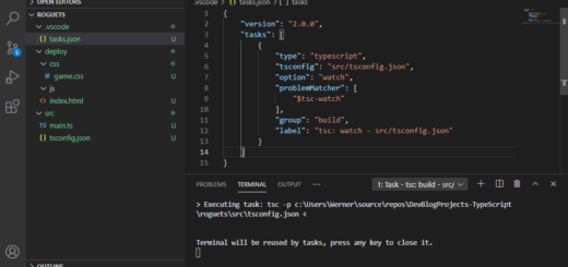 TypeScript automatischer Build