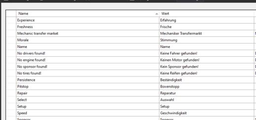 Übersetzungen in Blazor Server App