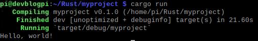 cargo run