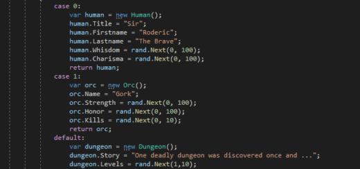 oneof Beispiel Code