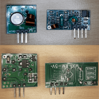 300 MHz Sender Empfänger